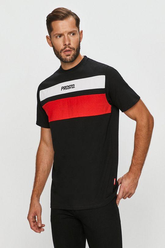 černá Prosto - Tričko Pánský