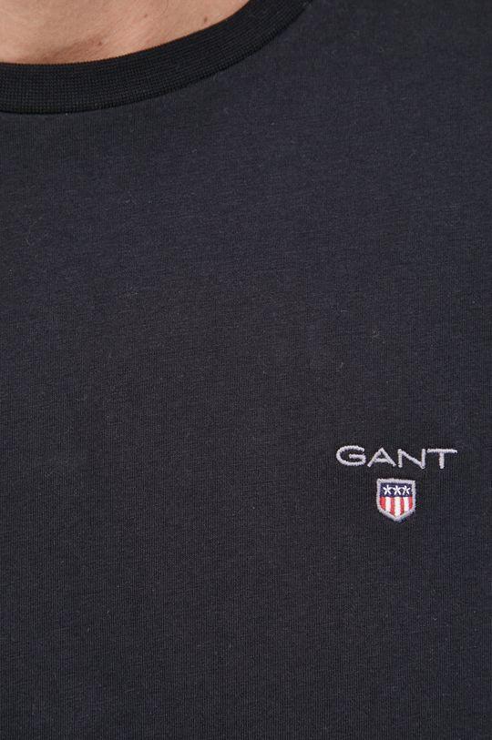 Gant - T-shirt bawełniany Męski