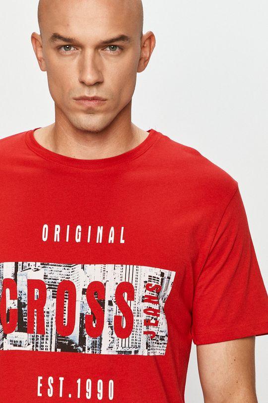 červená Cross Jeans - Tričko