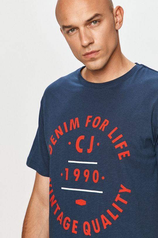 námořnická modř Cross Jeans - Tričko