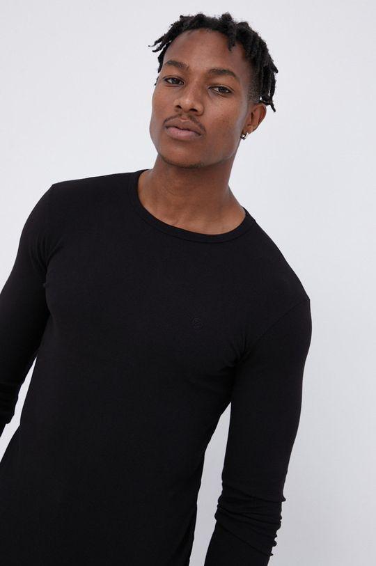 Cross Jeans - Longsleeve μαύρο