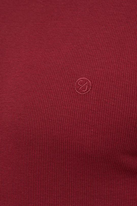 κάστανο Cross Jeans - Longsleeve