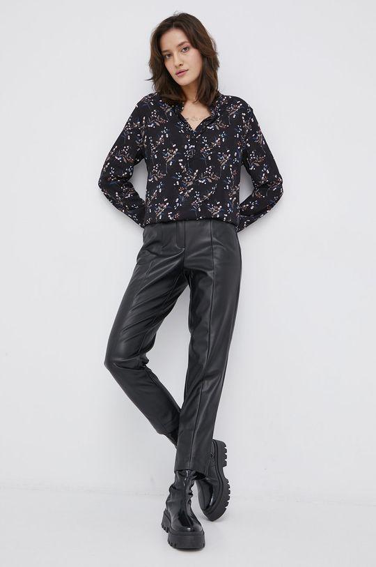 Cross Jeans - Bluzka czarny