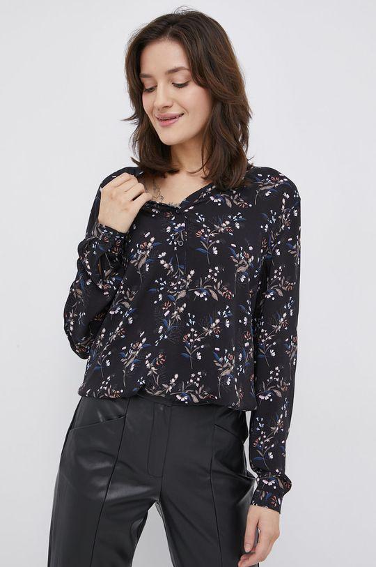 czarny Cross Jeans - Bluzka