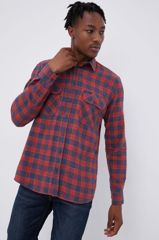 κόκκινο Cross Jeans - Πουκάμισο