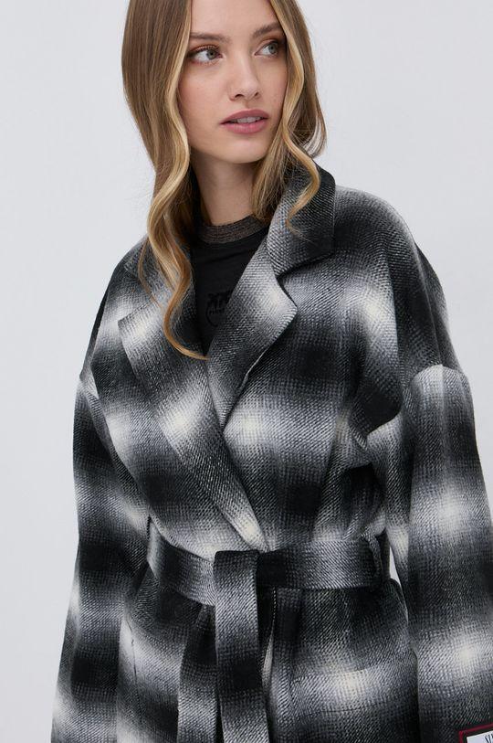 multicolor Silvian Heach - Płaszcz z domieszką wełny