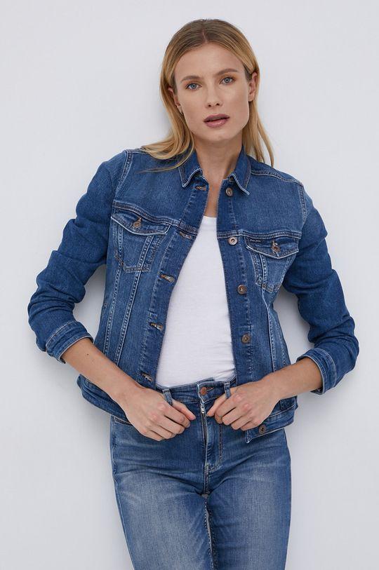 Cross Jeans - Kurtka jeansowa niebieski