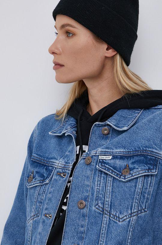 niebieski Cross Jeans - Kurtka jeansowa