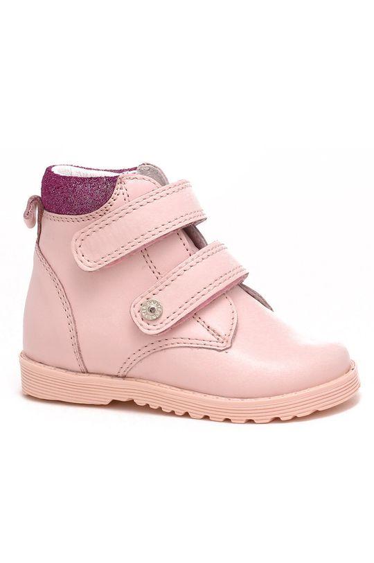 roz pastelat Bartek - incaltaminte din piele pentru copii De băieți
