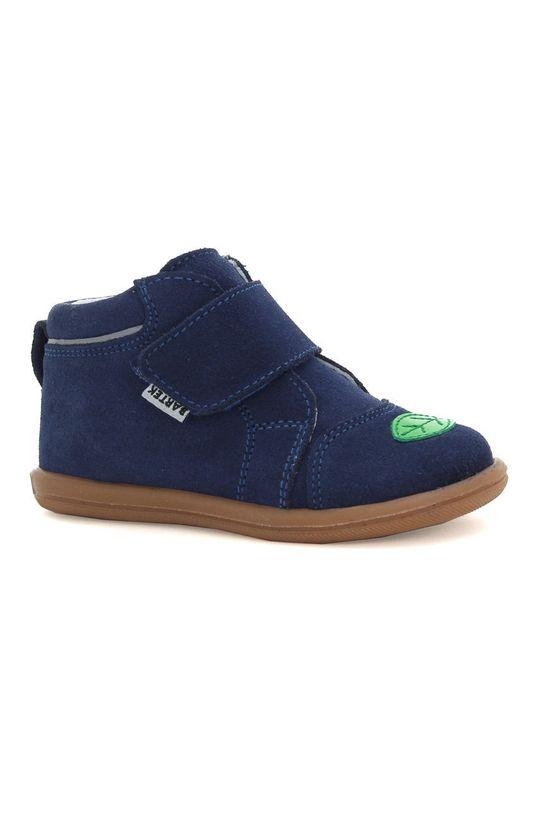 bleumarin Bartek - Pantofi din piele intoarsa pentru copii De băieți