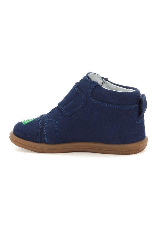 bleumarin Bartek - Pantofi din piele intoarsa pentru copii