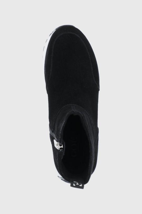 czarny GOE - Buty zamszowe