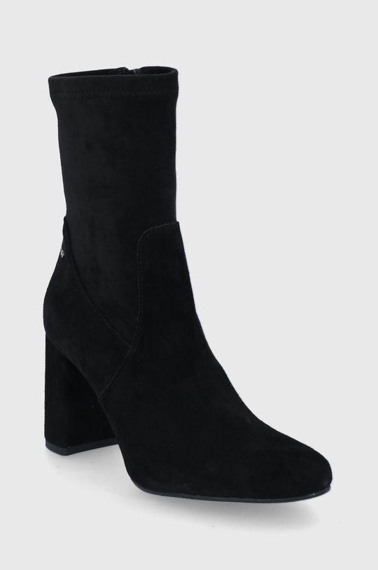 Wojas - Botki czarny