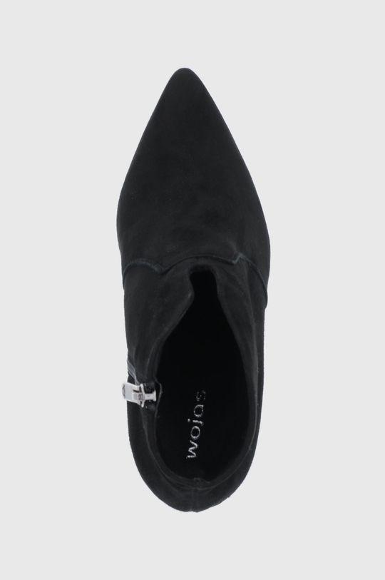 czarny Wojas - Botki skórzane