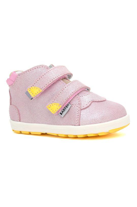 roz Bartek - Pantofi din piele intoarsa pentru copii De fete