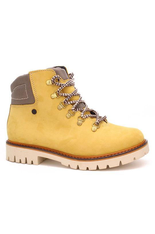 horčicová Bartek - Detské semišové topánky Detský