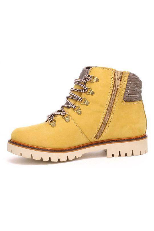 horčicová Bartek - Detské semišové topánky