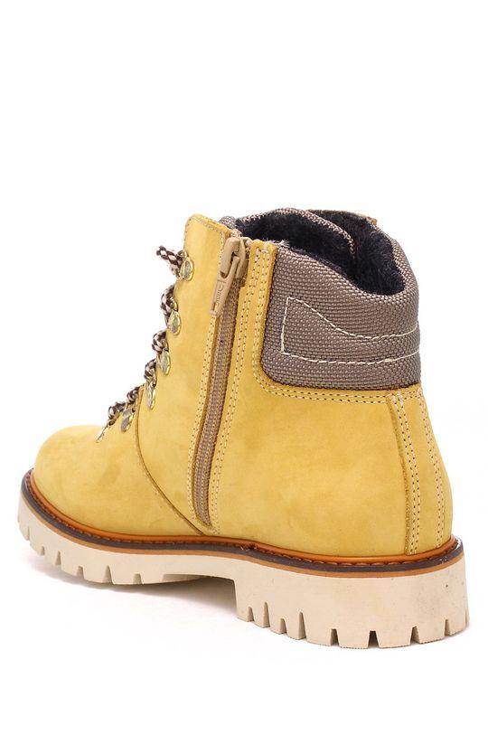 Bartek - Detské semišové topánky Detský