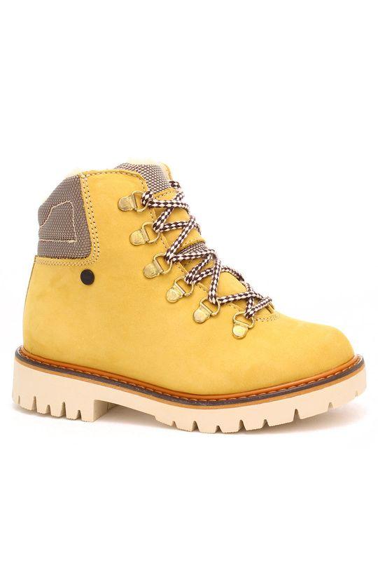 mustar Bartek - Pantofi din piele intoarsa pentru copii De copii