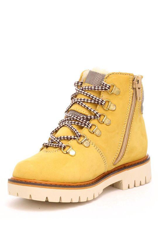 Bartek - Pantofi din piele intoarsa pentru copii  Gamba: Piele naturala Interiorul: Material textil Talpa: Material sintetic