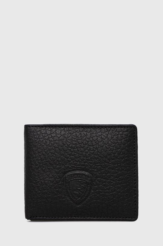 černá Blauer - Kožená peněženka Pánský