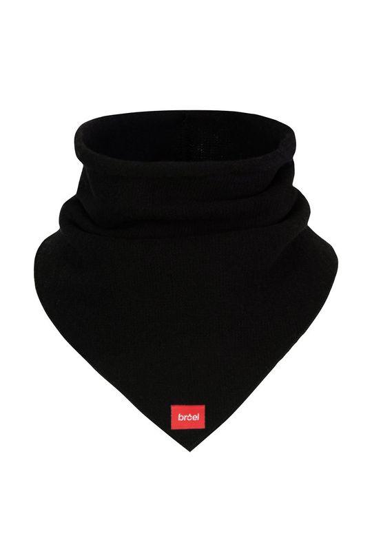 čierna Broel - Detský šál komín Detský