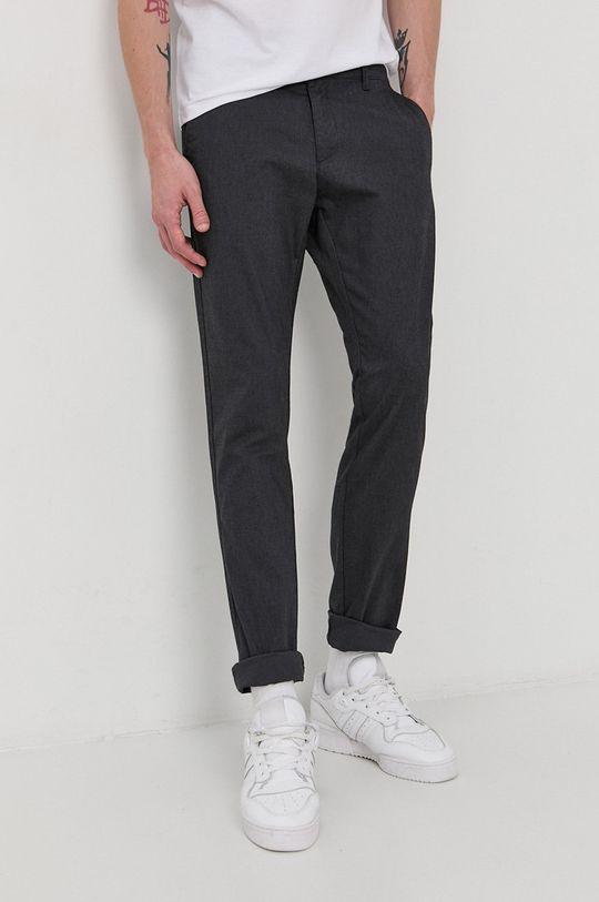 szary Cross Jeans - Spodnie Męski