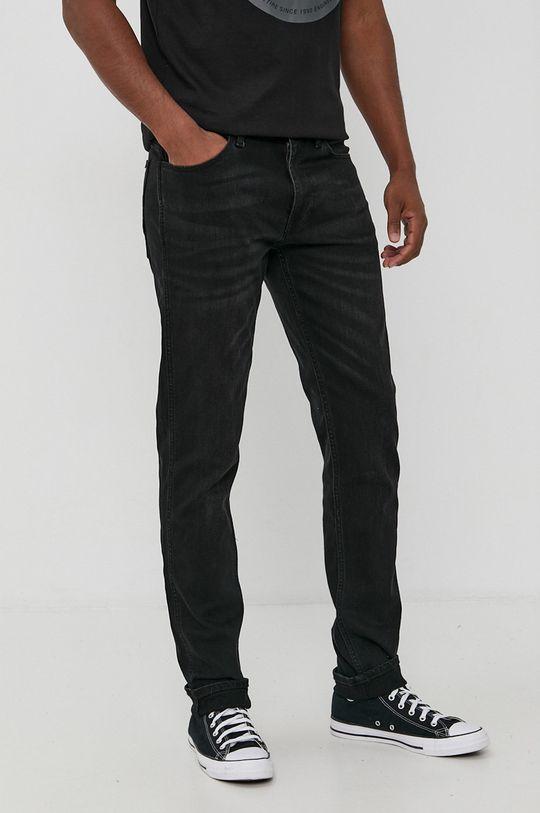 čierna Cross Jeans - Rifle Trammer Pánsky