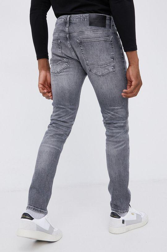 Cross Jeans - Jeansy bawełniane Tapered szary