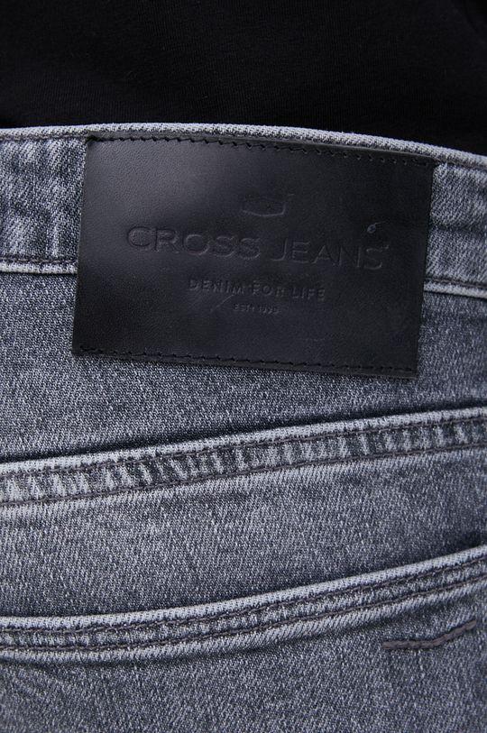 Cross Jeans - Jeansy bawełniane Tapered 99 % Bawełna, 1 % Elastan