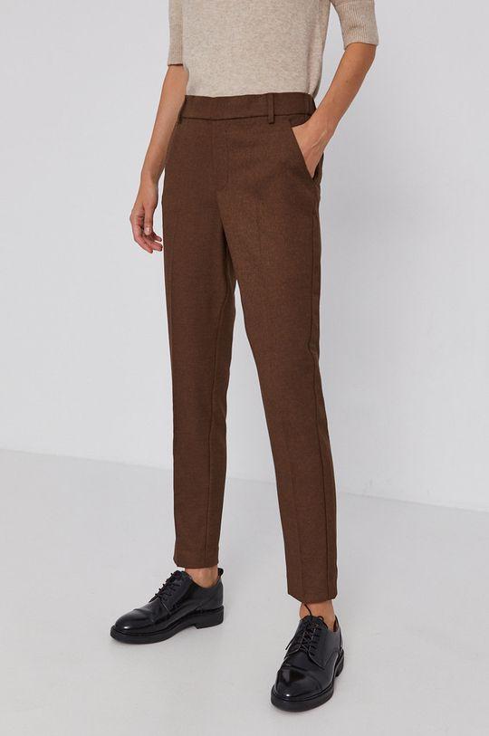 brązowy Mos Mosh - Spodnie Damski