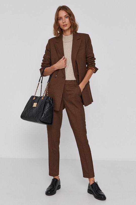 Mos Mosh - Spodnie brązowy