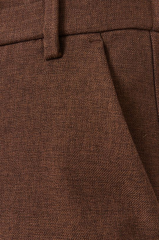 brązowy Mos Mosh - Spodnie