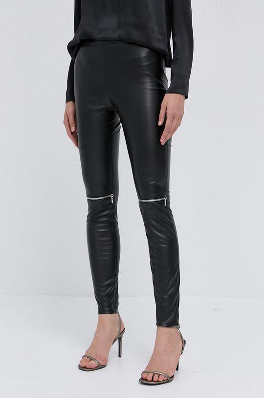 czarny NISSA - Spodnie Damski