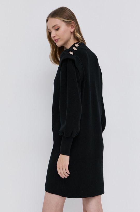 Silvian Heach - Sukienka 16 % Nylon, 27 % Poliester, 57 % Wiskoza