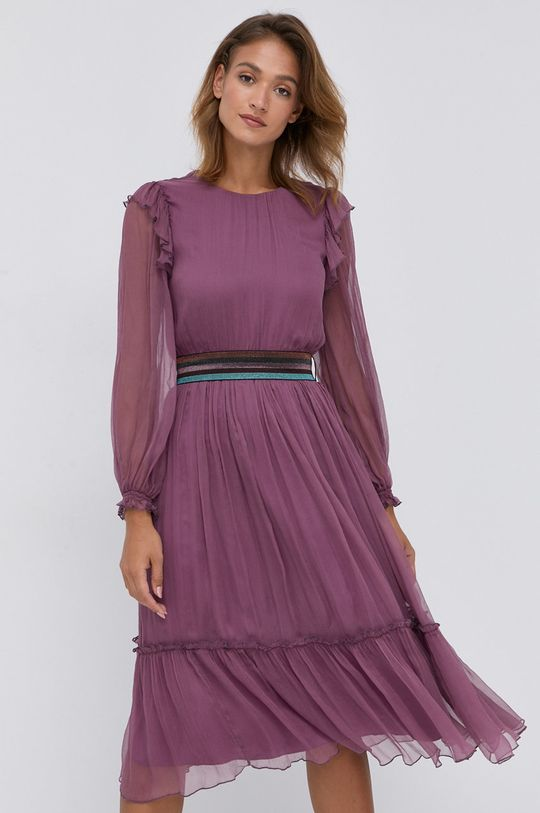 purpurowy NISSA - Sukienka Damski