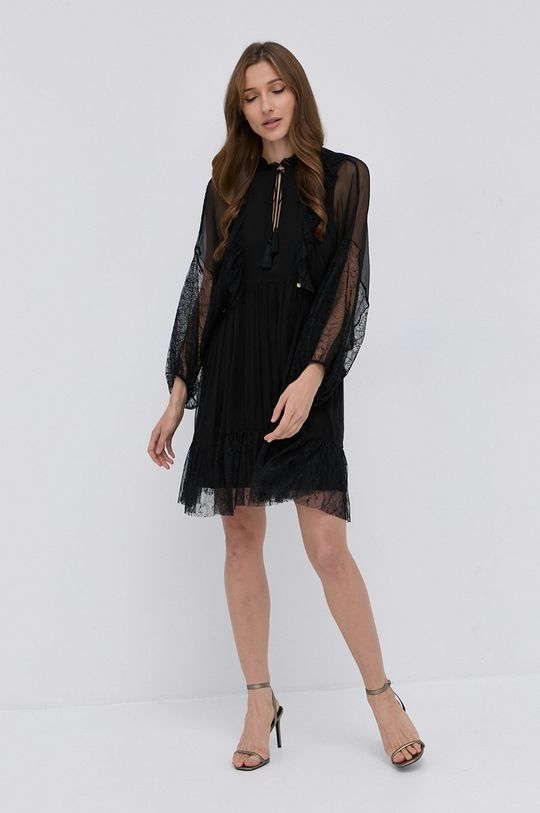 NISSA - Sukienka czarny