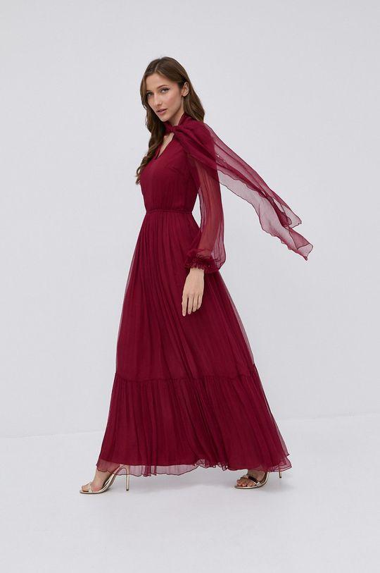 kasztanowy NISSA - Sukienka Damski