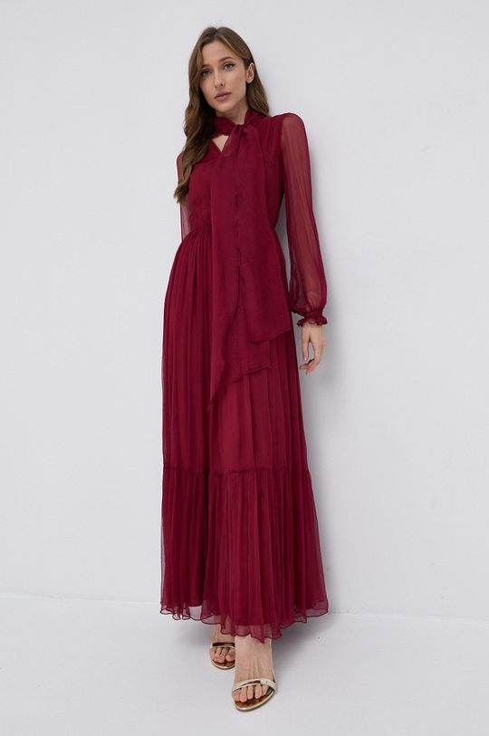 NISSA - Sukienka kasztanowy