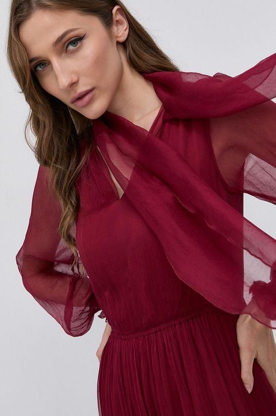 kasztanowy NISSA - Sukienka