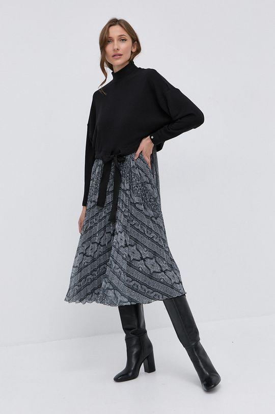 multicolor NISSA - Sukienka i sweter Damski