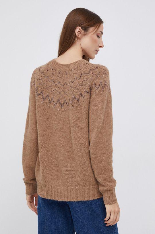 Mos Mosh - Sweter z domieszką wełny Materiał 1: 53 % Poliamid, 7 % Wełna, 40 % Alpaka, Materiał 2: 57 % Poliamid, 43 % Włókno metaliczne