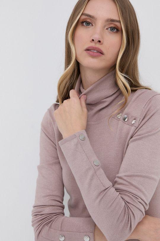 pastelowy różowy Silvian Heach - Sweter Damski