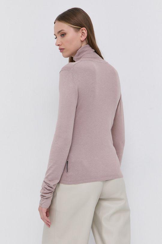 pastelowy różowy Silvian Heach - Sweter