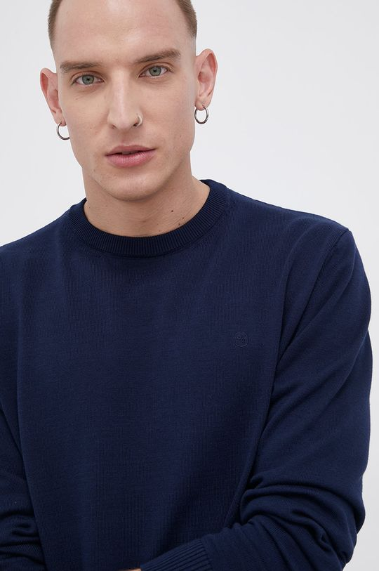 granatowy Cross Jeans - Sweter bawełniany