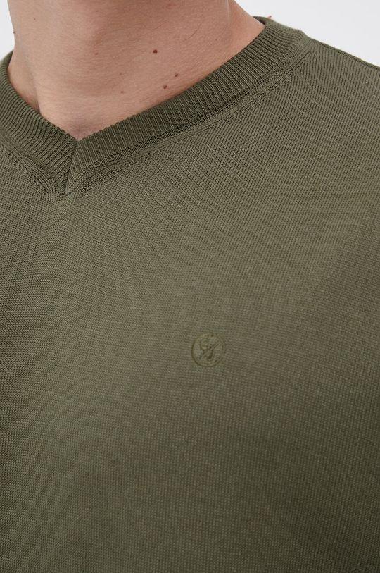 Cross Jeans - Sweter bawełniany Męski