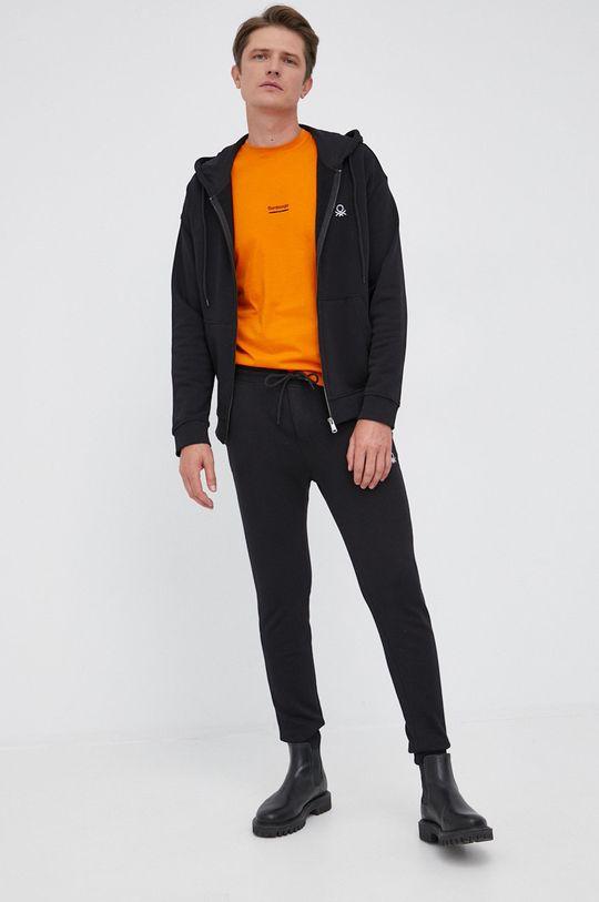Bomboogie - T-shirt bawełniany pomarańczowy