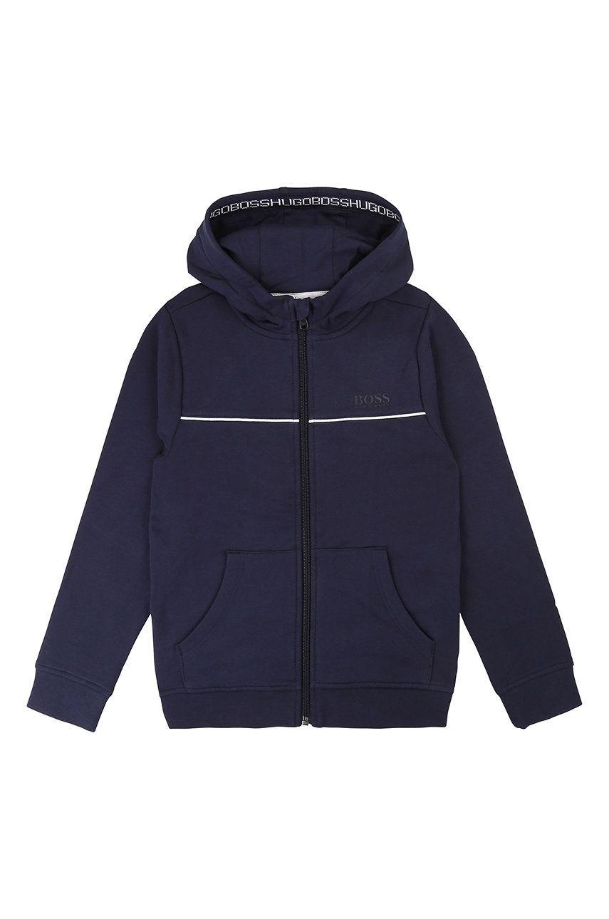Boss - Bluza copii 164-176 cm imagine answear.ro