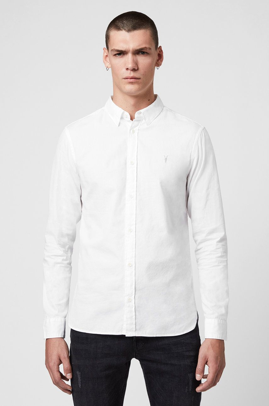 AllSaints - Camasa Redondo LS Shirt imagine