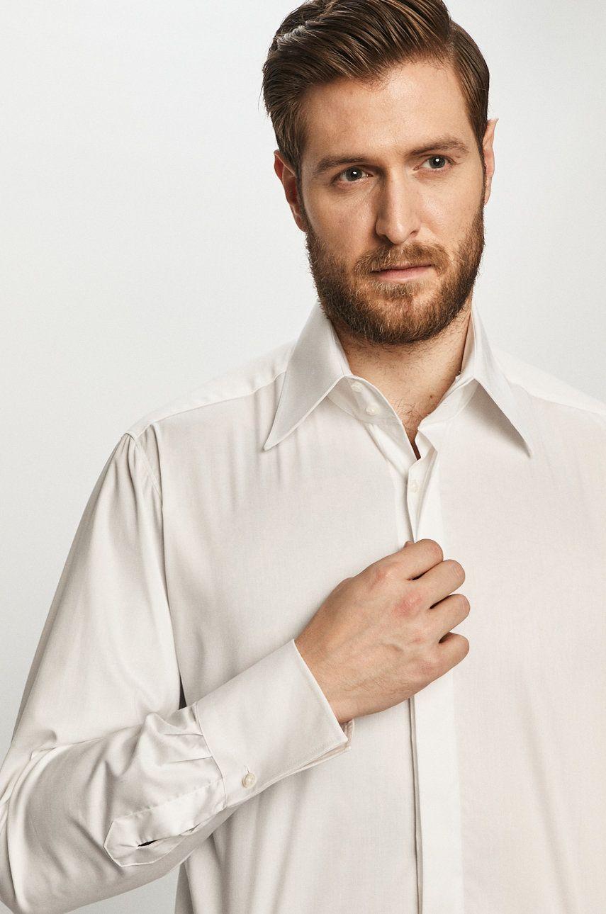 Karl Lagerfeld - Camasa din bumbac imagine answear.ro